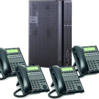 nec_sl2100_phone_system with 4 handsets